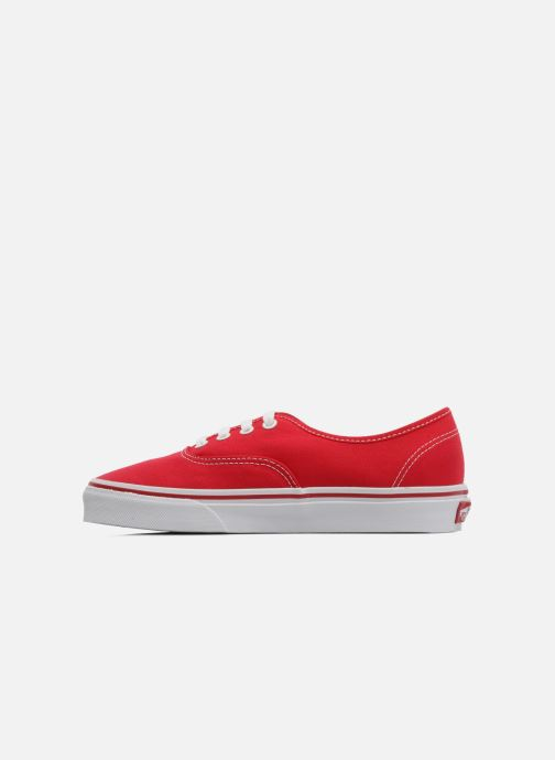 Sneakers Vans Authentic w Rosso immagine frontale