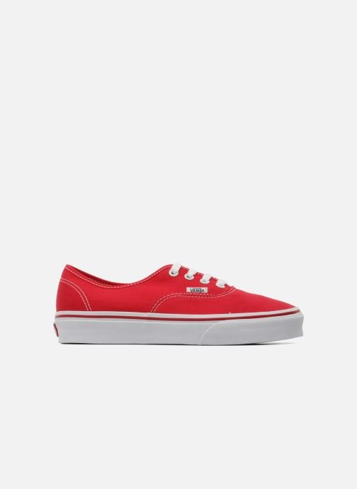 Trainers Vans Authentic w Red back view