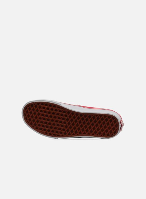 Sneakers Vans Authentic w Rosso immagine dall'alto