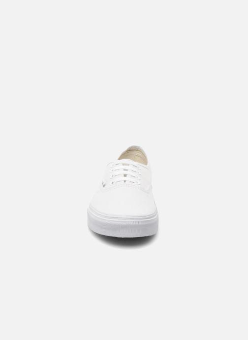 Sneakers Vans Authentic w Bianco modello indossato