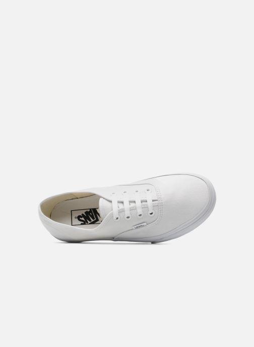 Baskets Vans Authentic w Blanc vue gauche