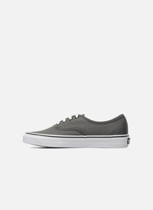 Sneaker Vans Authentic w grau ansicht von vorne