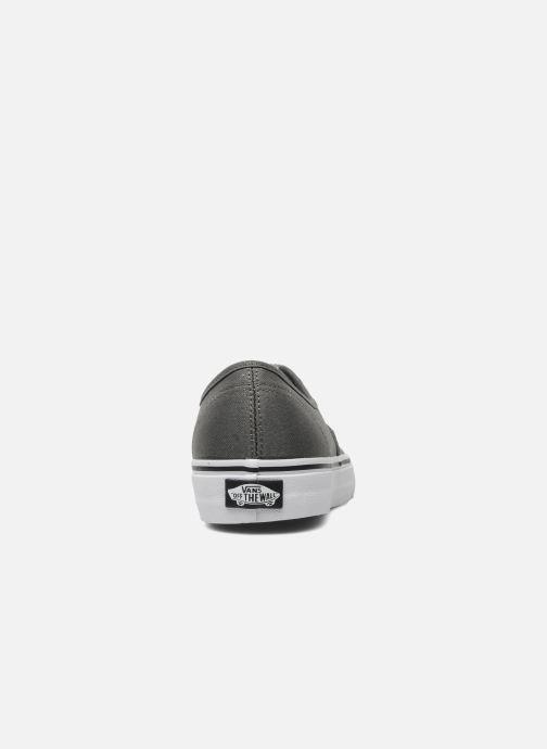 Sneaker Vans Authentic w grau ansicht von rechts