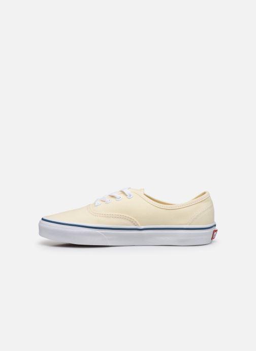 Sneaker Vans Authentic w beige ansicht von vorne