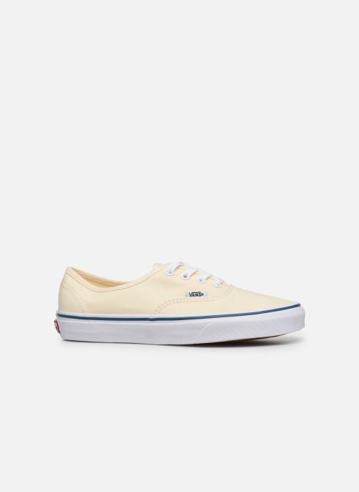 Sneaker Vans Authentic w beige ansicht von hinten