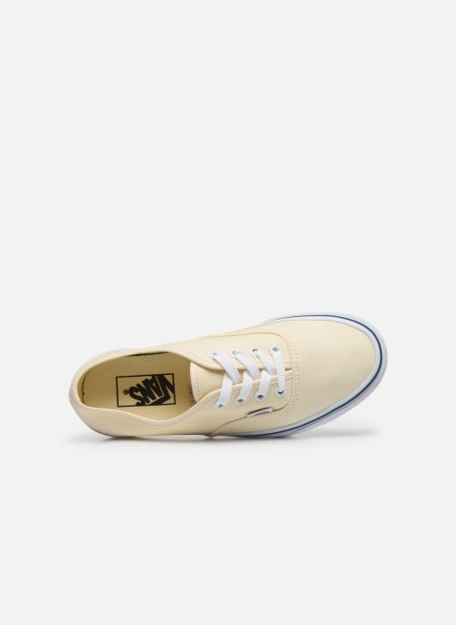 Sneaker Vans Authentic w beige ansicht von links