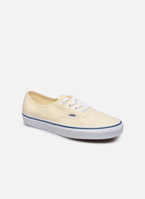 Trainers Vans Authentic w Beige detailed view/ Pair view
