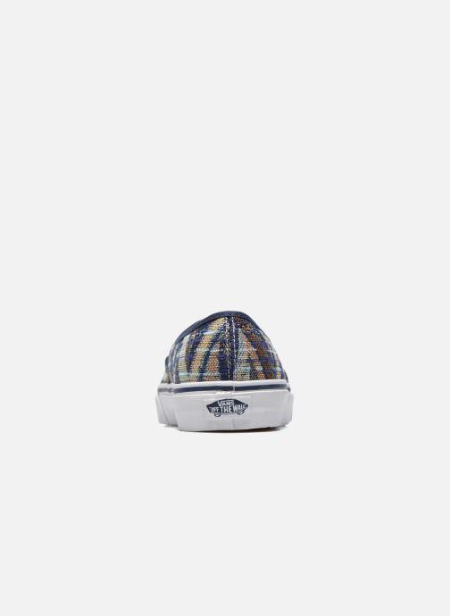 Baskets Vans Authentic w Multicolore vue droite