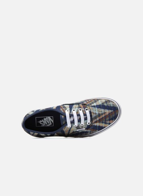 Sneakers Vans Authentic w Multicolore immagine sinistra
