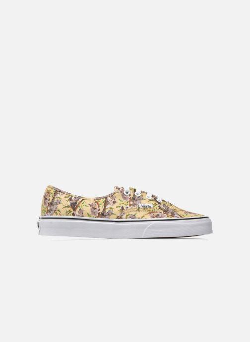 Sneakers Vans Authentic w Multicolor achterkant