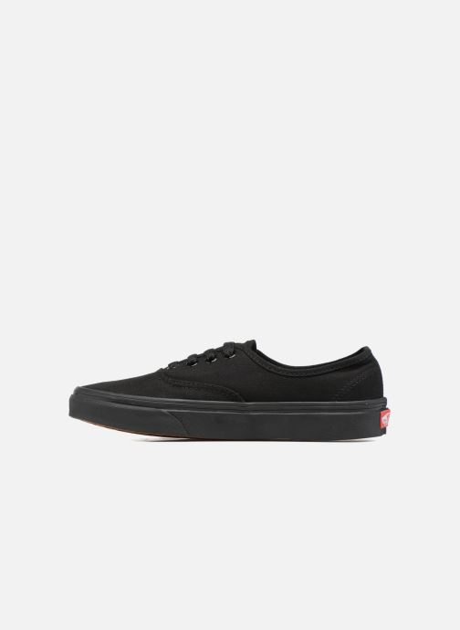 Deportivas Vans Authentic w Negro vista de frente