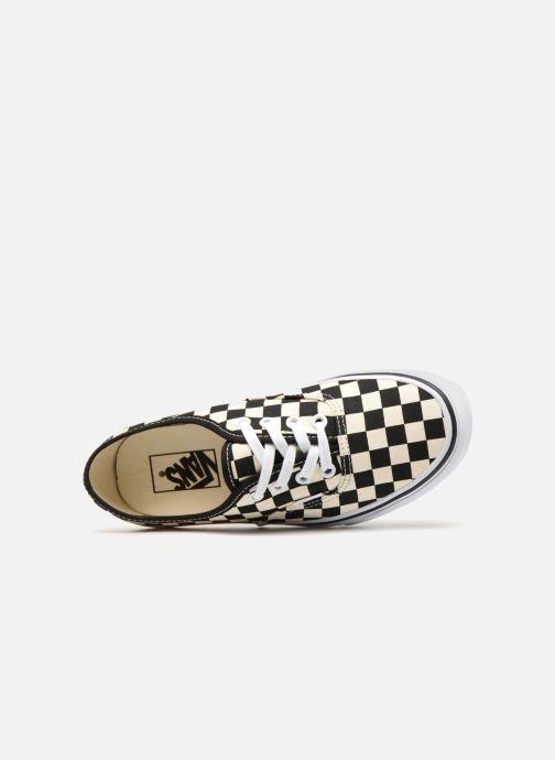 Sneaker Vans Authentic w schwarz ansicht von links