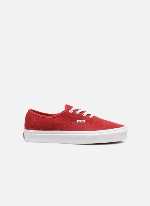 Sneaker Vans Authentic w rot ansicht von hinten