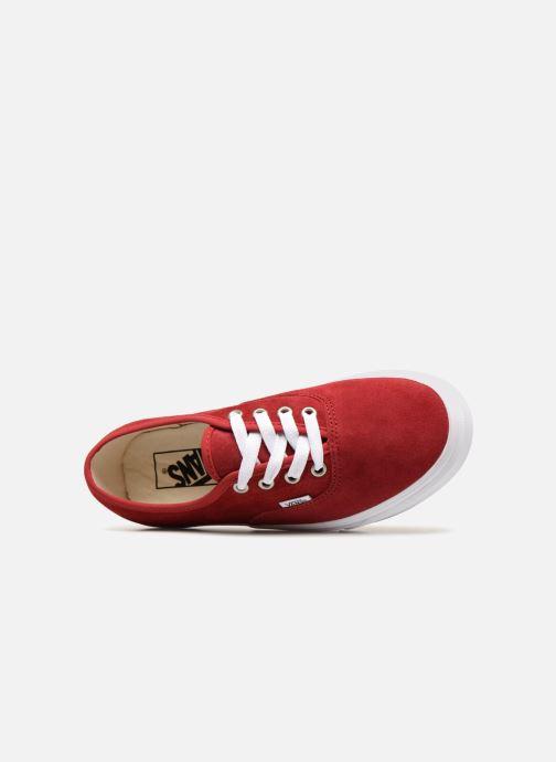 Sneaker Vans Authentic w rot ansicht von links