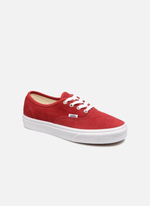 Sneaker Vans Authentic w rot detaillierte ansicht/modell