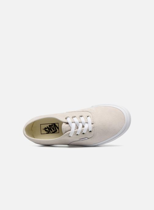 Baskets Vans Authentic w Blanc vue gauche