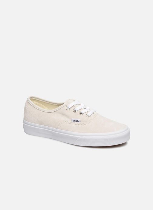 Baskets Vans Authentic w Blanc vue détail/paire