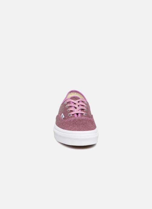 Trainers Vans Authentic w Pink model view