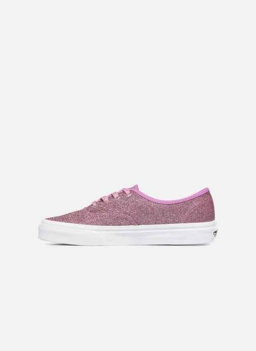 Sneaker Vans Authentic w rosa ansicht von vorne