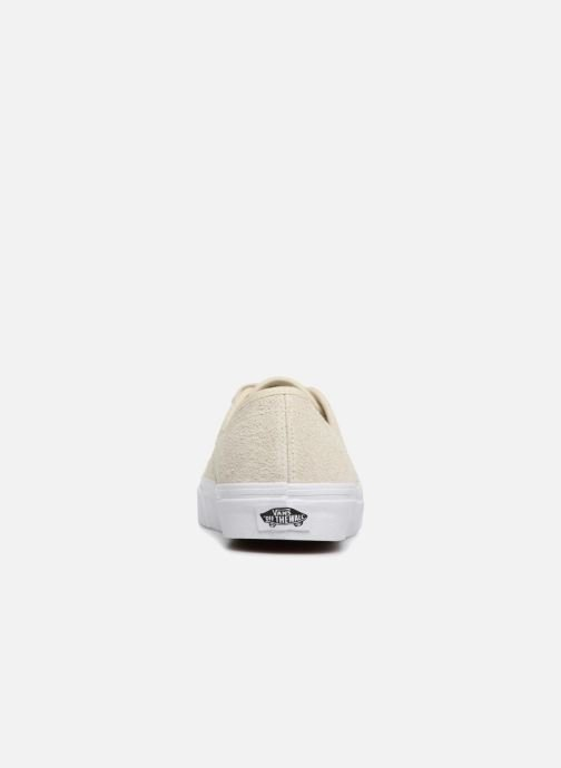 Trainers Vans Authentic w Beige view from the right
