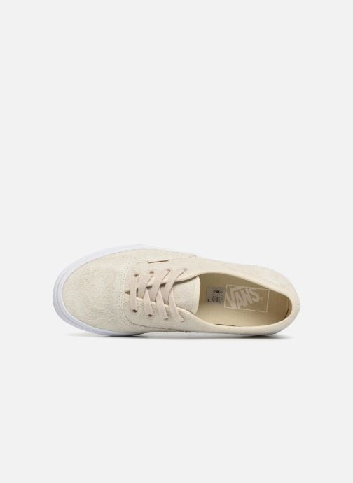 Trainers Vans Authentic w Beige view from the left