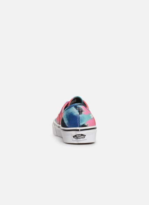 Baskets Vans Authentic w Multicolore vue droite
