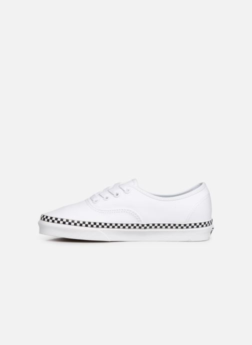 Deportivas Vans Authentic w Blanco vista de frente