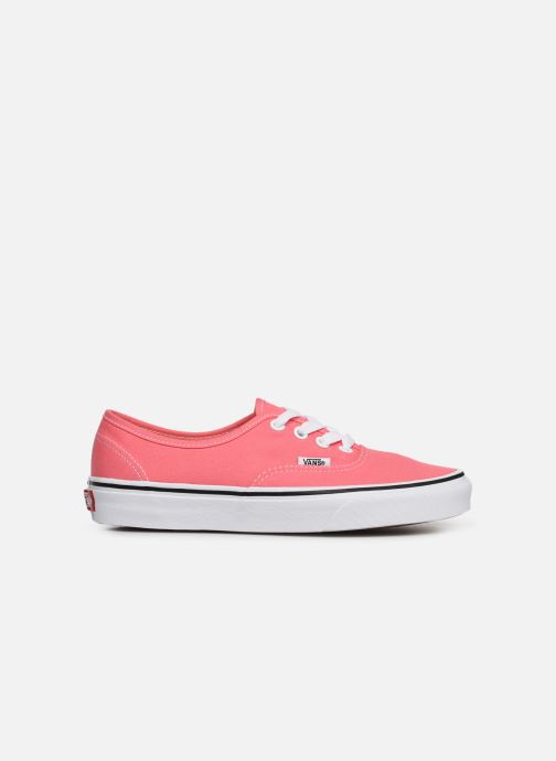 Baskets Vans Authentic w Rose vue derrière