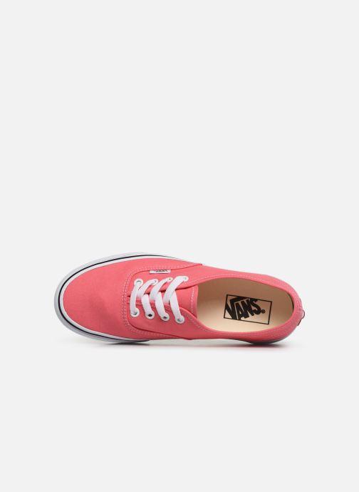 Sneaker Vans Authentic w rosa ansicht von links