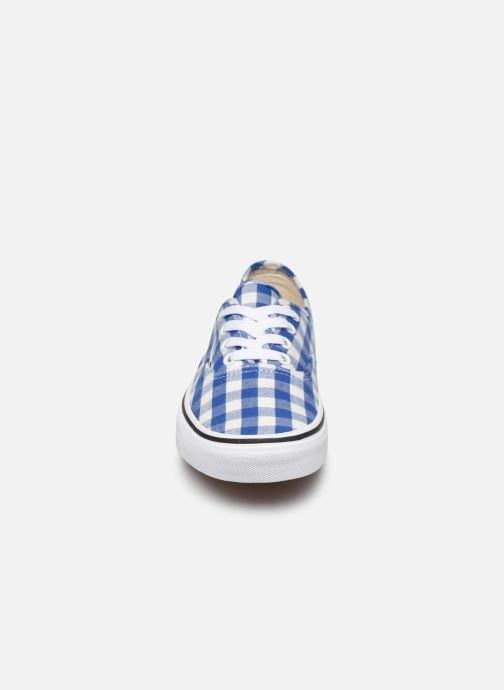 Sneakers Vans Authentic w Azzurro modello indossato