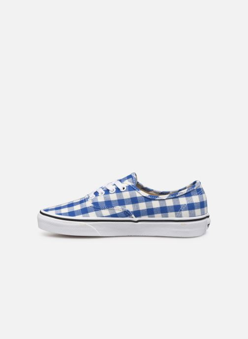 Sneakers Vans Authentic w Azzurro immagine frontale
