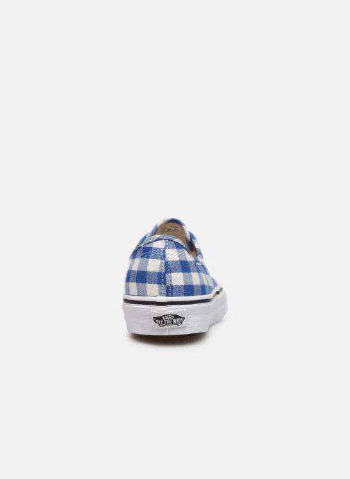 Sneakers Vans Authentic w Azzurro immagine destra