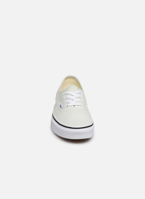 Baskets Vans Authentic w Vert vue portées chaussures