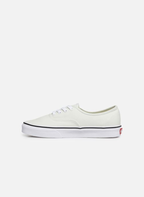 Trainers Vans Authentic w Green front view