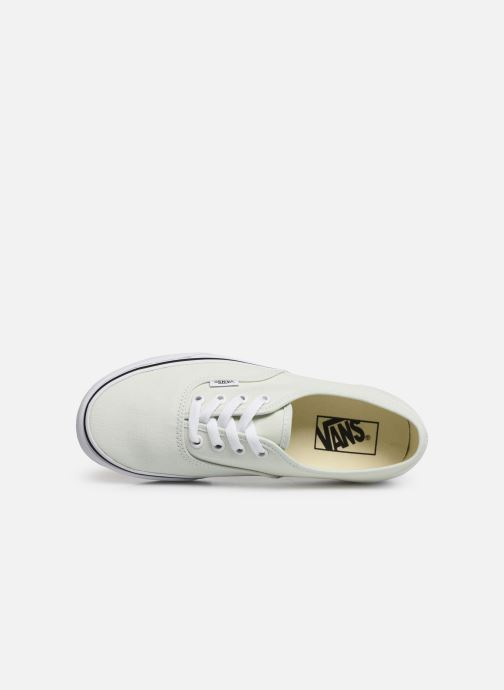 Sneakers Vans Authentic w Verde immagine sinistra