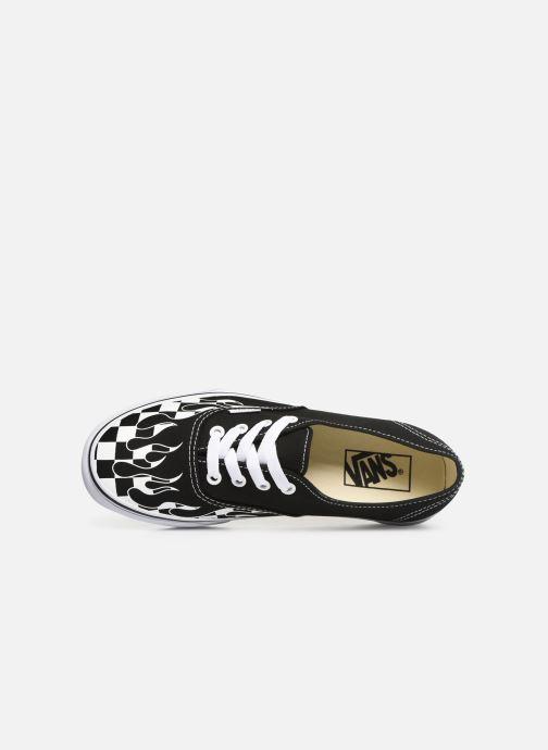 Flame W White Black true checker Authentic Vans zZwqtvt