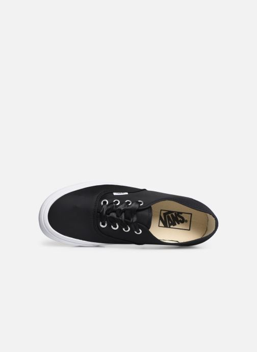 Baskets Vans Authentic w Noir vue gauche
