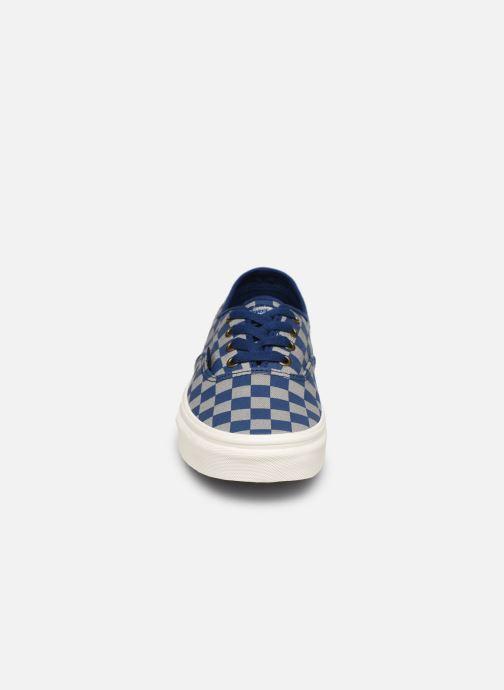 Sneaker Vans Authentic w blau schuhe getragen