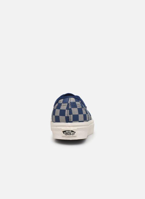 Sneakers Vans Authentic w Blauw rechts