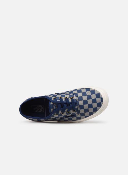 Baskets Vans Authentic w Bleu vue gauche