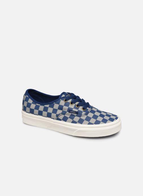 Baskets Vans Authentic w Bleu vue détail/paire