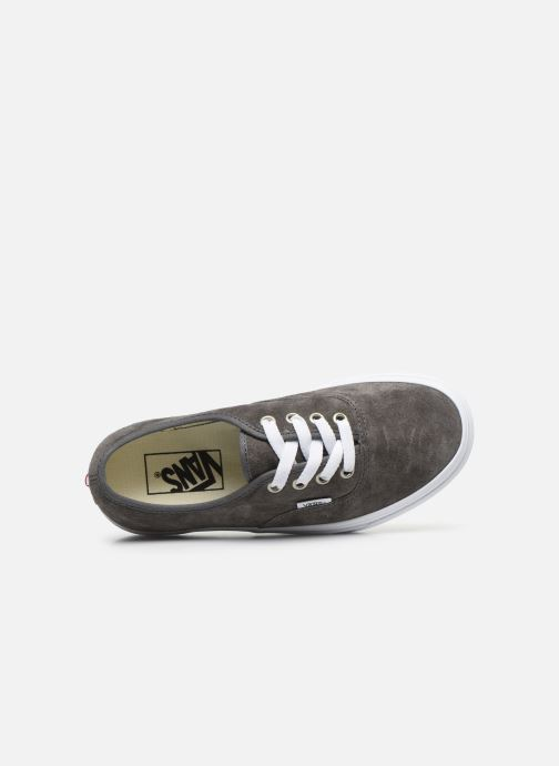 Sneaker Vans Authentic w grau ansicht von links