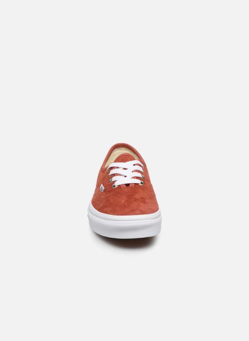 Sneakers Vans Authentic w Arancione modello indossato