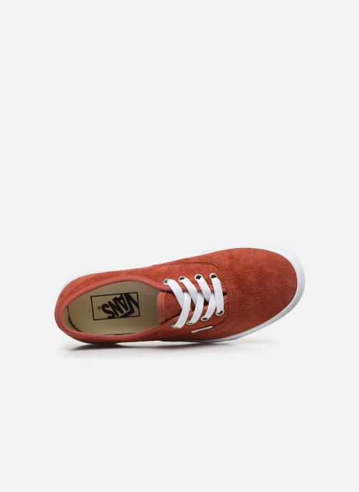 Sneakers Vans Authentic w Arancione immagine sinistra