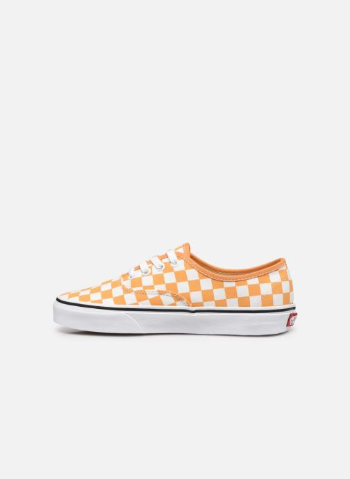 Sneaker Vans Authentic w orange ansicht von vorne