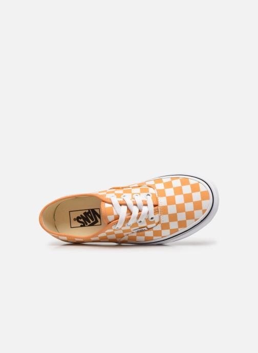 Sneaker Vans Authentic w orange ansicht von links