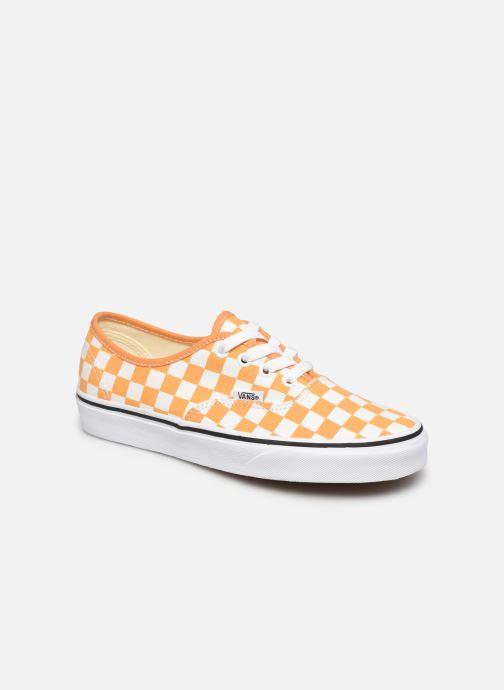 Baskets Vans Authentic w Orange vue détail/paire