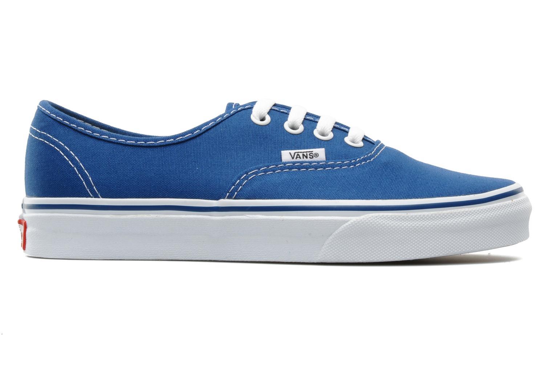 Baskets Vans Authentic w Bleu vue derrière