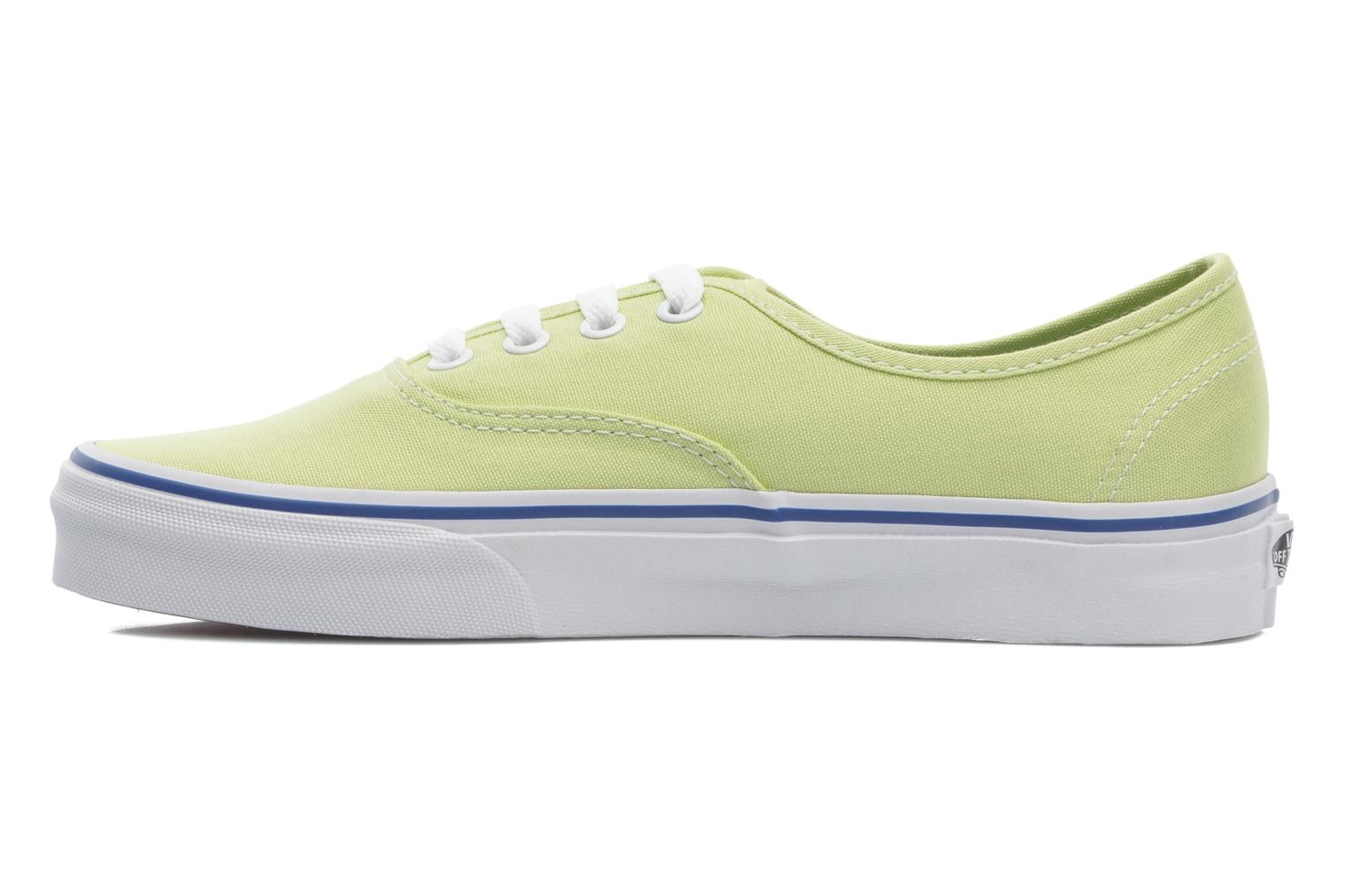 Baskets Vans Authentic w Vert vue face