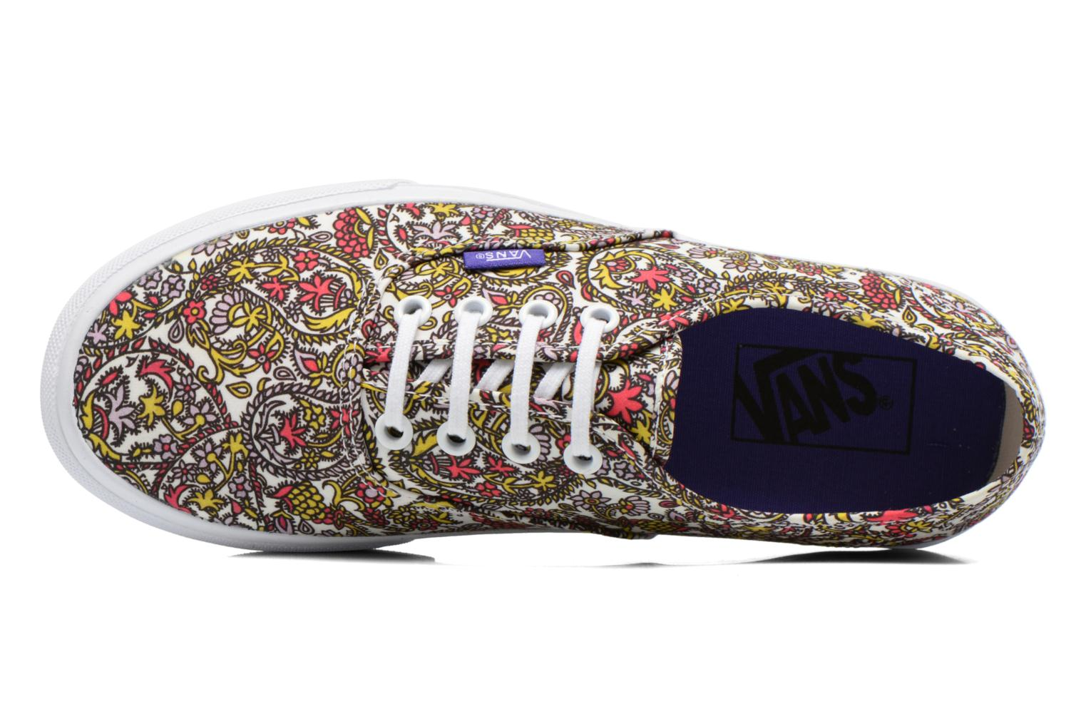 Baskets Vans Authentic w Multicolore vue gauche